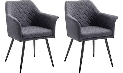 MCA furniture 4-Fußstuhl »Covina«, 2er-Set, Stuhl belastbar bis 120 Kg kaufen