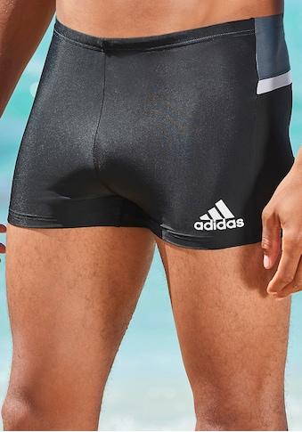 adidas Performance Boxer-Badehose, Mit kontrastfarbenem Einsatz im Rückteil kaufen