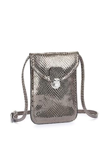LASCANA Umhängetasche, Minibag, Handytasche zum Umhängen im coolen Metallic Look kaufen