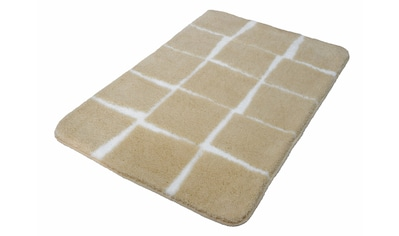 Badematte »Carat«, Kleine Wolke, Höhe 20 mm, rutschhemmend beschichtet, fußbodenheizungsgeeignet kaufen