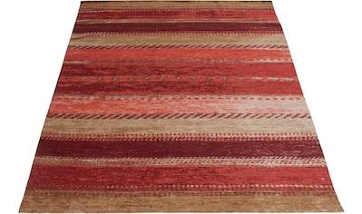 Teppich, »Lewe«, Home affaire, rechteckig, Höhe 8 mm, maschinell gewebt kaufen