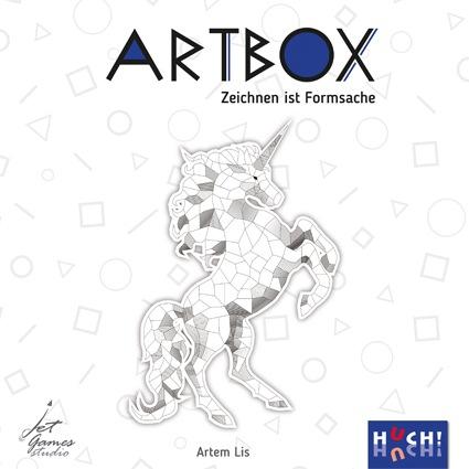 Huch! Huch Spiel Artbox bunt Kinder Quizspiele Gesellschaftsspiele
