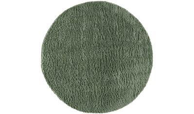 Carpet City Hochflor-Teppich »Pulpy 100«, rund, 30 mm Höhe, Wohnzimmer kaufen