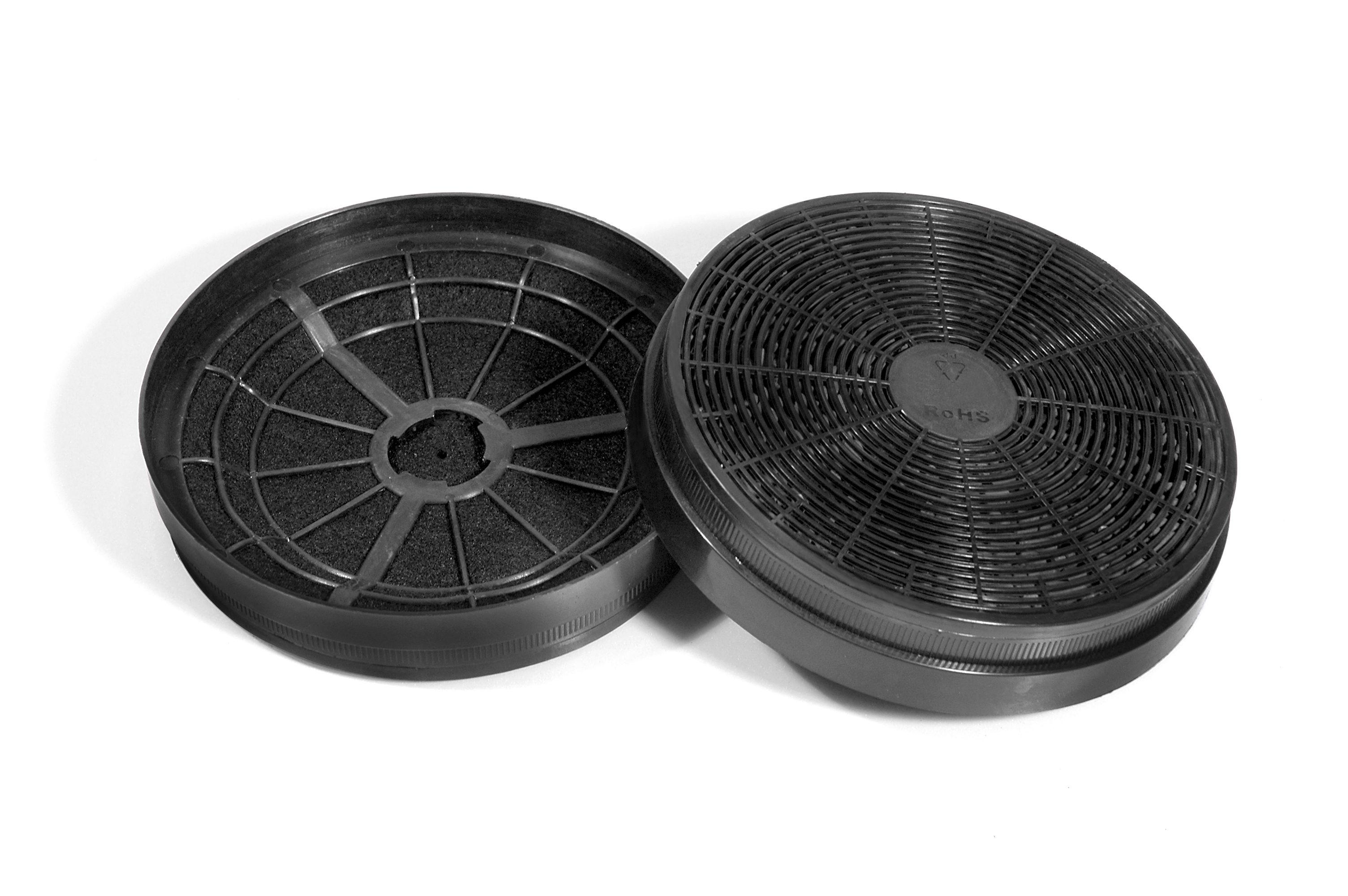 HELD MÖBEL Kohlefilter CF135 2 Stck Technik & Freizeit/Elektrogeräte/Haushaltsgeräte/Dunstabzugshauben/Zubehör für Dunstabzugshauben