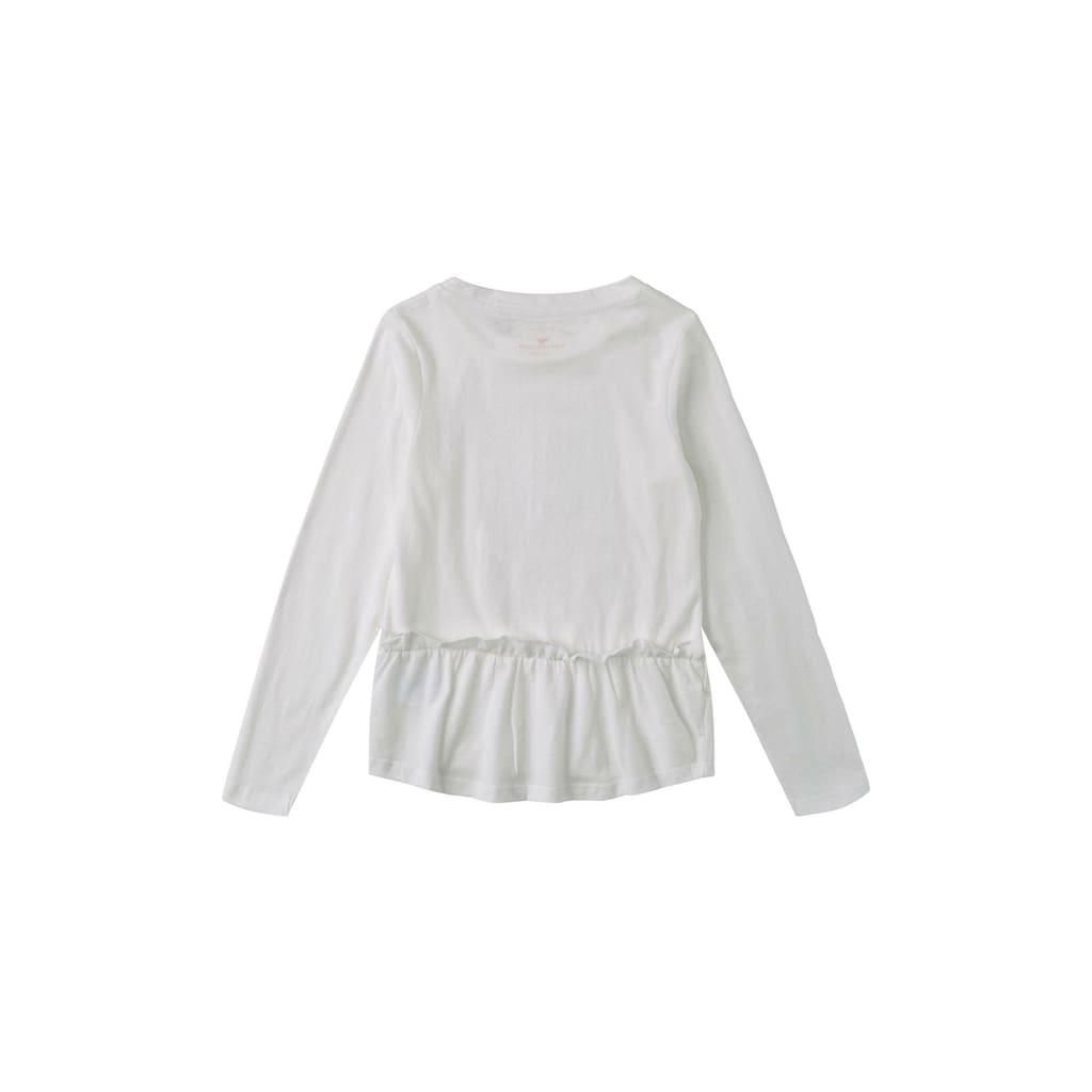 TOM TAILOR T-Shirt »Langarmshirt mit Fotoprint«