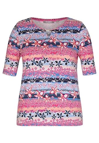 Rabe T - Shirt mit Allover - Print und Spangendetail kaufen