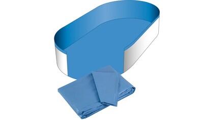 CLEAR POOL Poolinnenhülle für Ovalformbecken, 0,6 mm Stärke, in versch. Größen kaufen
