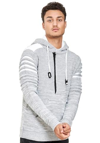Rusty Neal Kapuzensweatshirt, in modernem Strickdesign kaufen