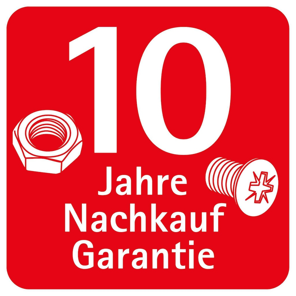 Schulte Eckdusche »Garant«, Höhe mit Stabilisationsbügel: 2035 mm