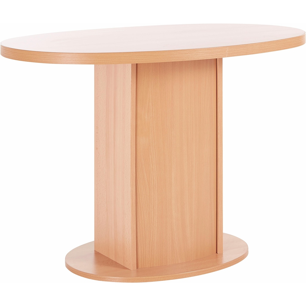 my home Säulen-Esstisch »Apollon 1«, Breite 110 cm, oval
