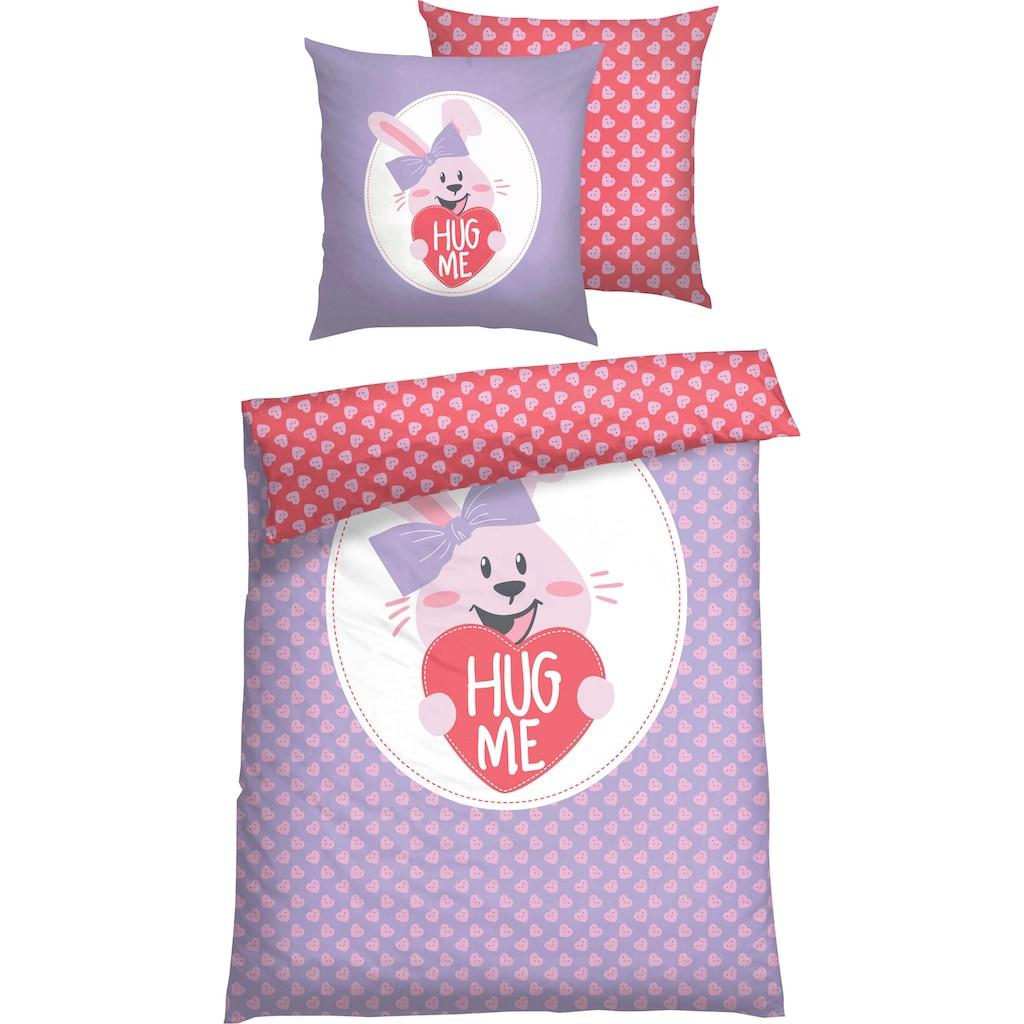 Baby Born Kinderbettwäsche »Hug me«, mit Digitaldruck