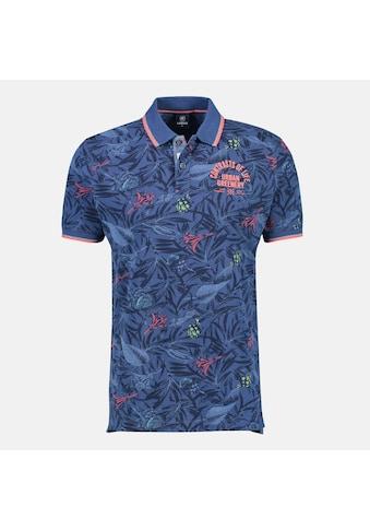 LERROS Poloshirt »Floral Print«, in Großen Größen kaufen