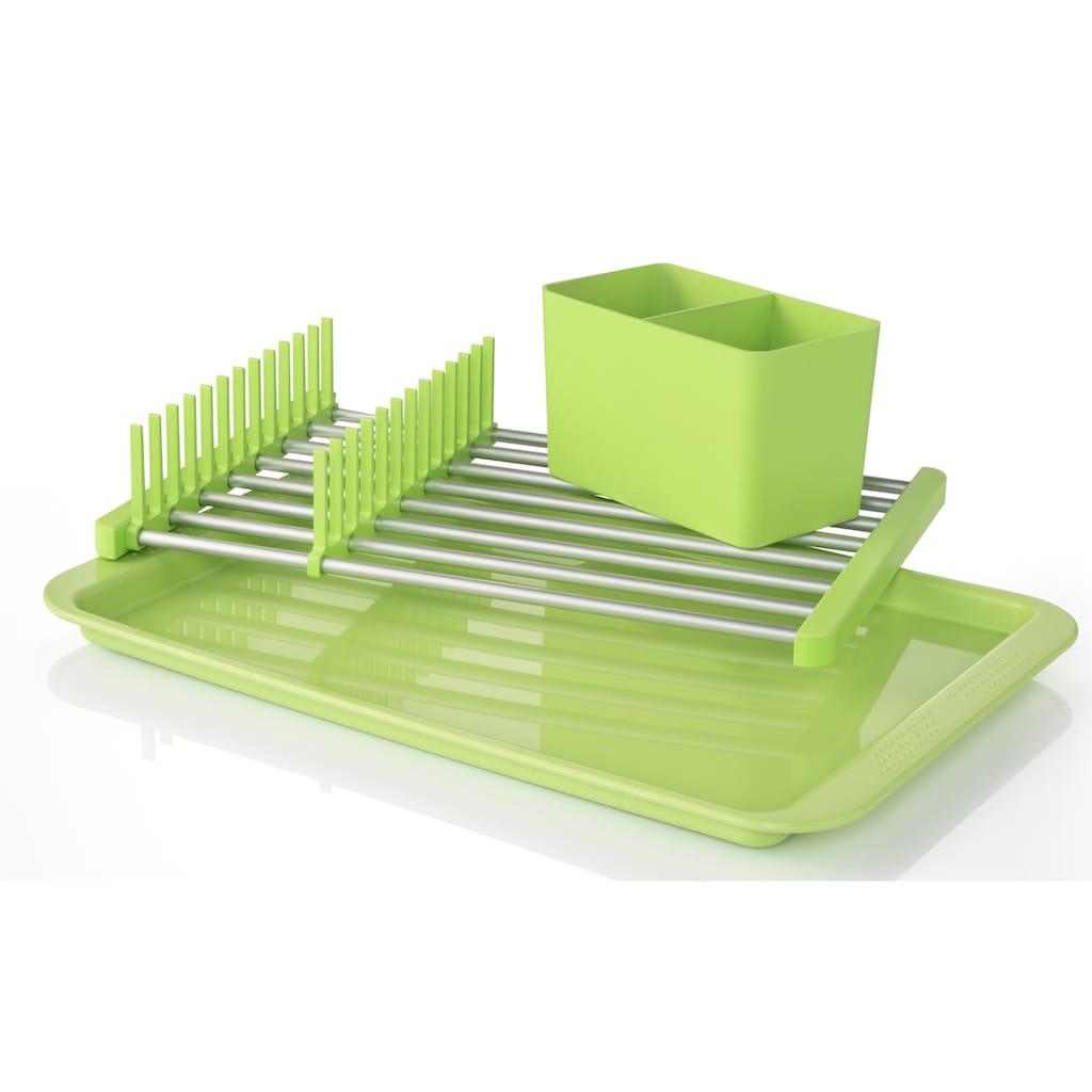 Ruco Geschirrständer, Kunststoff, inkl. Besteckkorb