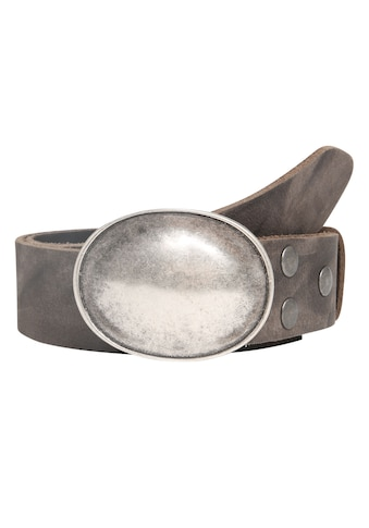 RETTUNGSRING by showroom 019° Ledergürtel, mit klassisch-elegantem Schließdesign kaufen