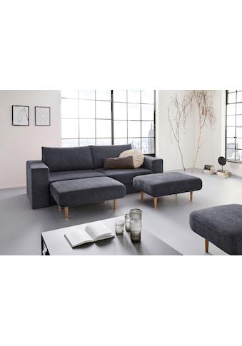 LOOKS by Wolfgang Joop 4-Sitzer »Looksv«, Verwandlungssofa: aus Sofa wird Sofa mit 2... kaufen