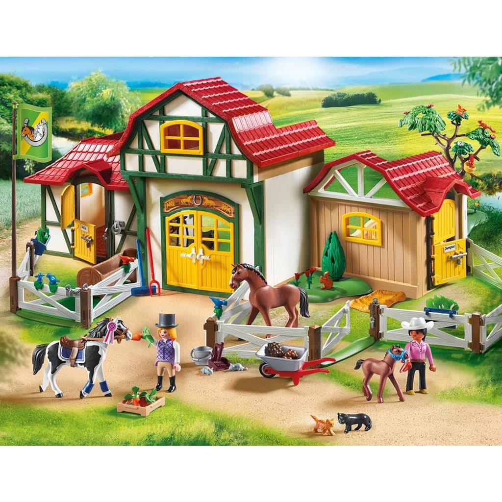 Playmobil® Konstruktions-Spielset »Großer Reiterhof (6926), Country«, Made in Germany