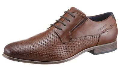 bugatti Schnürschuh »Leagro«, mit praktischem Stretcheinsatz kaufen