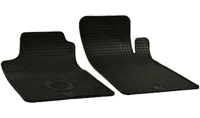 Walser Passform-Fußmatten, Renault, Kangoo, Großr.lim.-Kastenwagen, (2 St., 2 Vordermatten), für Renault Kangoo BJ 1997 - 2007 kaufen