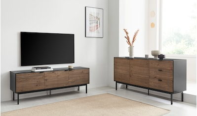 STEENS Lowboard »SOMA«, designed by Morten Georgsen, Fernsehtisch mit Massivholzfront kaufen