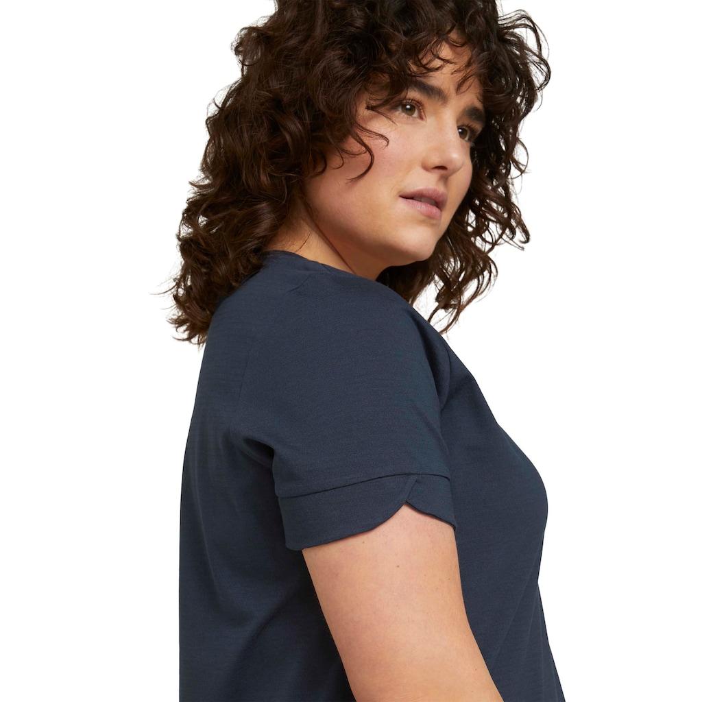 TOM TAILOR MY TRUE ME T-Shirt, im schönen Basic Look