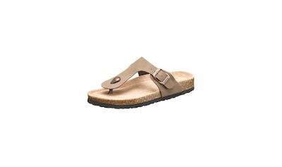 CRUZ Sandale »Barns«, mit verstellbarem Zehentrennerriemen kaufen
