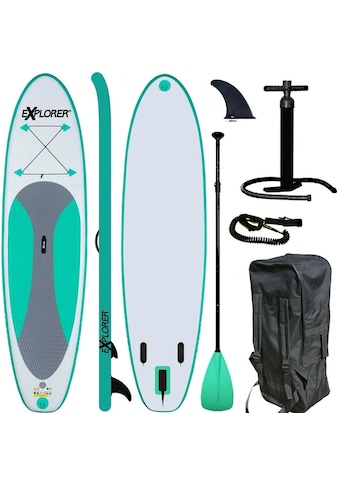EXPLORER Inflatable SUP - Board »Explorer SUP 300«, (Set, 6 - tlg.) kaufen