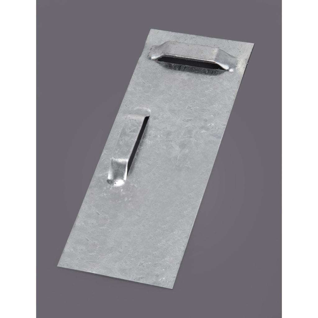 welltime Badspiegel »Flex«, 80 x 60 cm, mit Glasablage und Facettenschliff