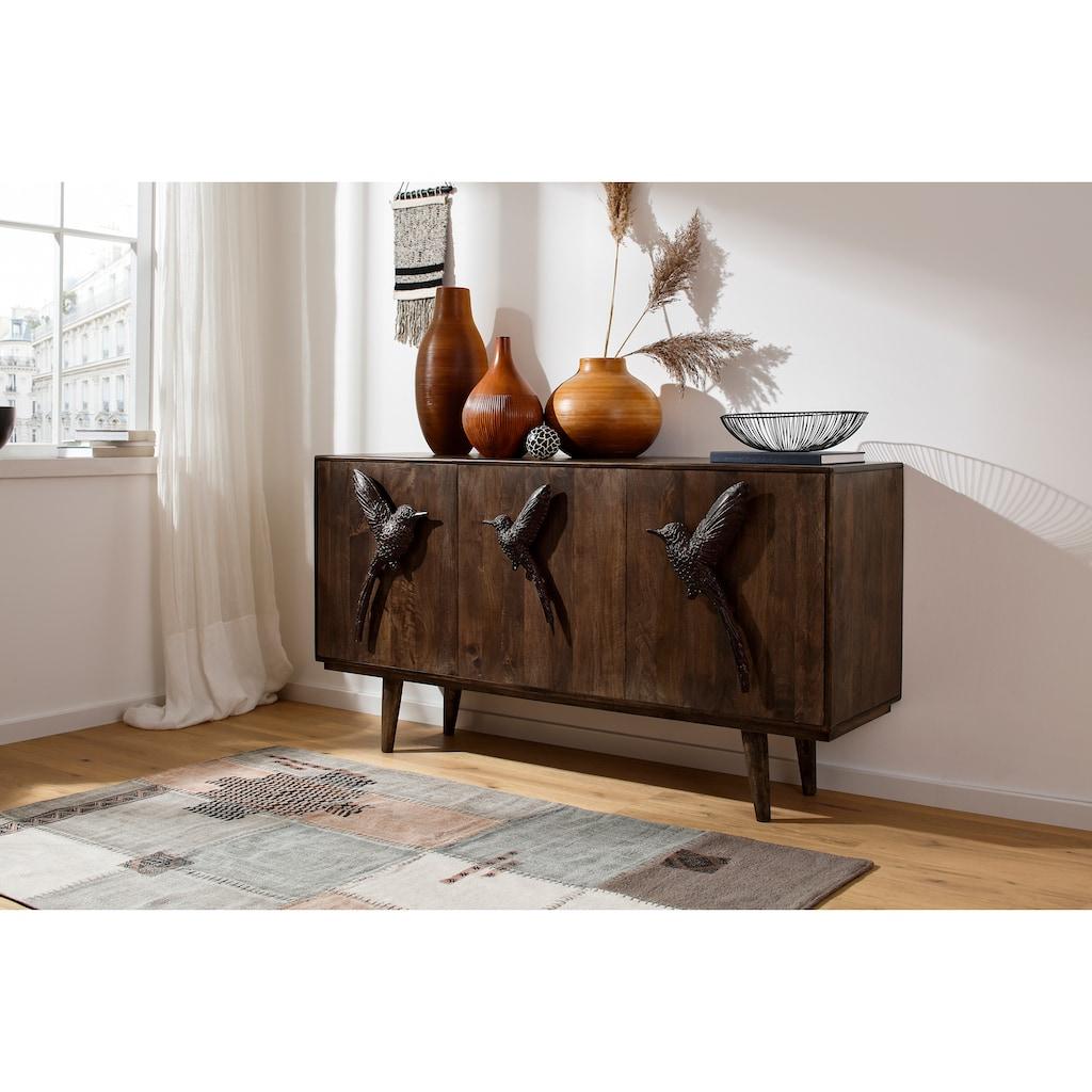 Home affaire Sideboard »Colibri«, Die Griffe sind wie Vögel geformt