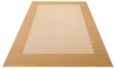 my home Teppich »Utto«, rechteckig, 7 mm Höhe, mit Bordüre, Wohnzimmer kaufen