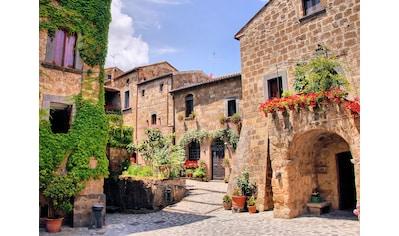 Papermoon Fototapete »Italian Old Village« kaufen