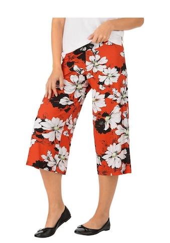 Trigema Culottes mit Blumenmuster kaufen