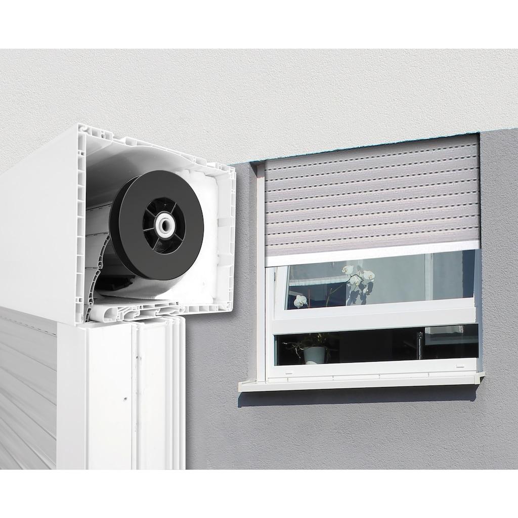 SCHELLENBERG Aufsatzrollladen Aluminium, für Roro-Fenster 90x60 cm