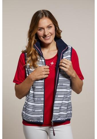 Hajo Kurzweste, mit Fleece-Innenseite kaufen