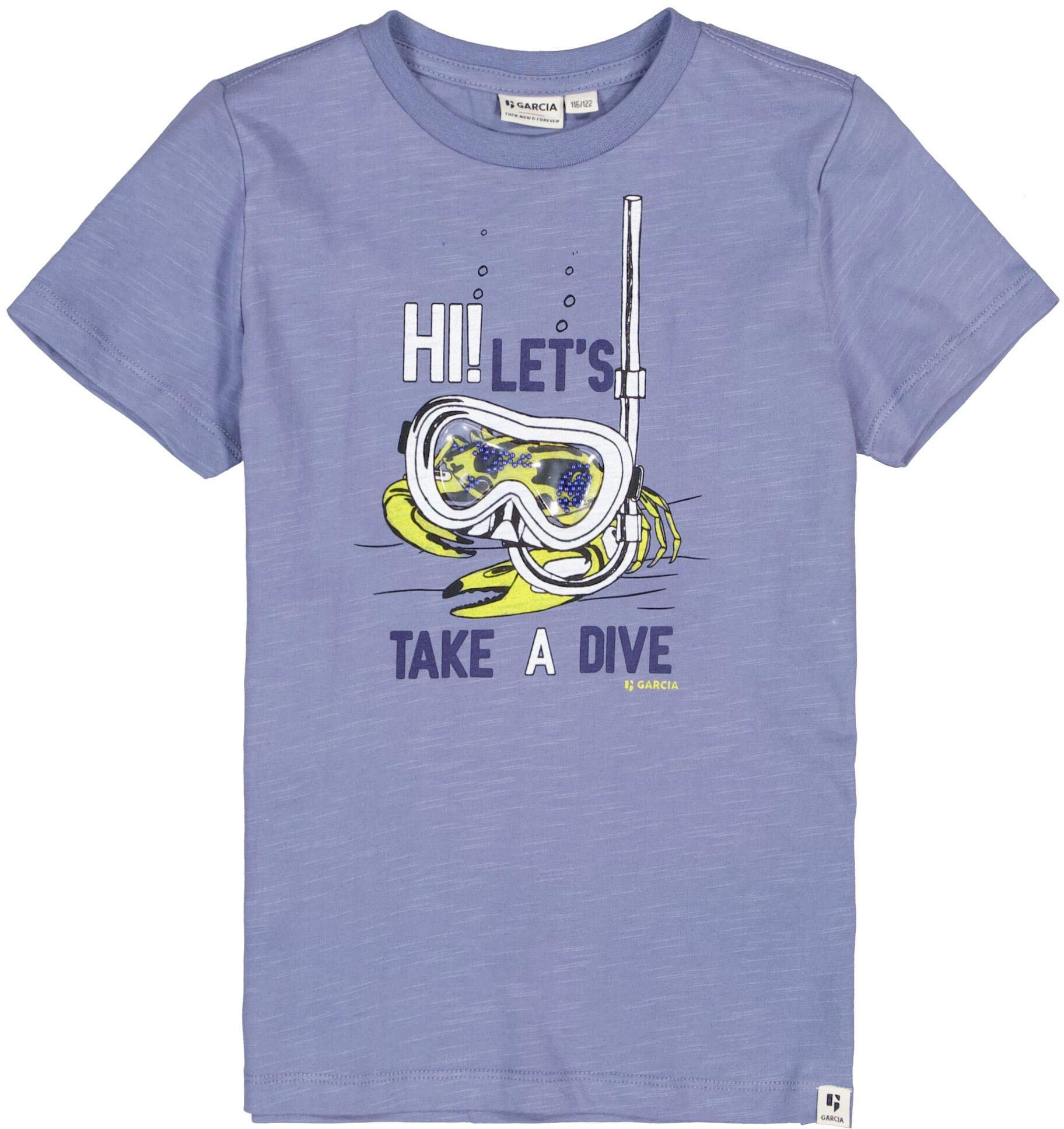 Garcia T-Shirt Hi blau Jungen T-Shirts Shirts Jungenkleidung