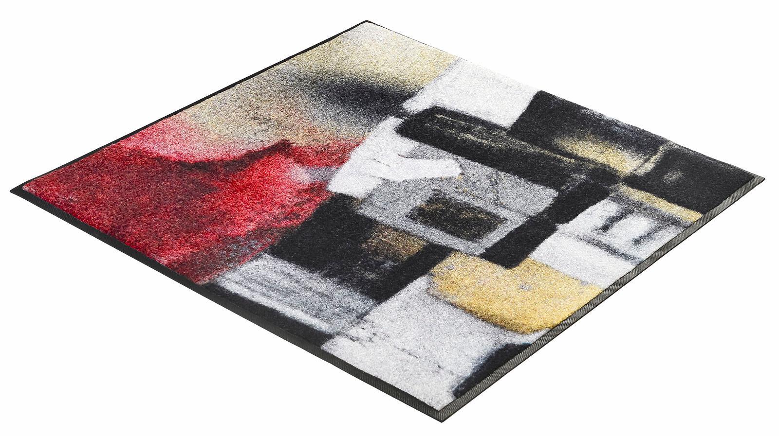 Läufer Amore wash+dry by Kleen-Tex quadratisch Höhe 7 mm gedruckt