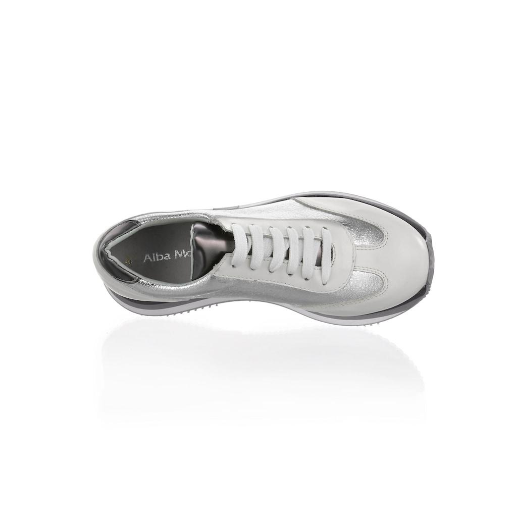 Alba Moda Sneaker, im Materialmix