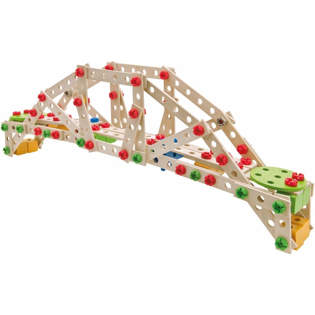 Eichhorn Konstruktionsspielsteine »Constructor Windrad 300tlg.«, (300 St.), Made in Germany, FSC®-Holz aus gewissenhaft bewirtschafteten Wäldern