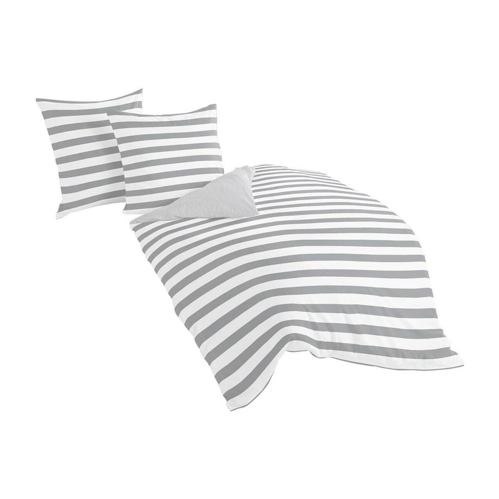 TRAUMSCHLAF Bettwäsche »Albklassik Stripe«, edle bügelleichte Mako-Satin Qualität
