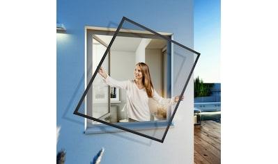 Windhager Insektenschutz-Fenster »EXPERT Spannrahmen«, BxH: 140x150 cm kaufen