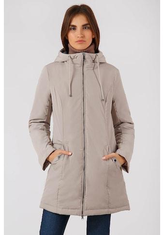 Finn Flare Kurzmantel, mit verstellbarer Kapuze kaufen