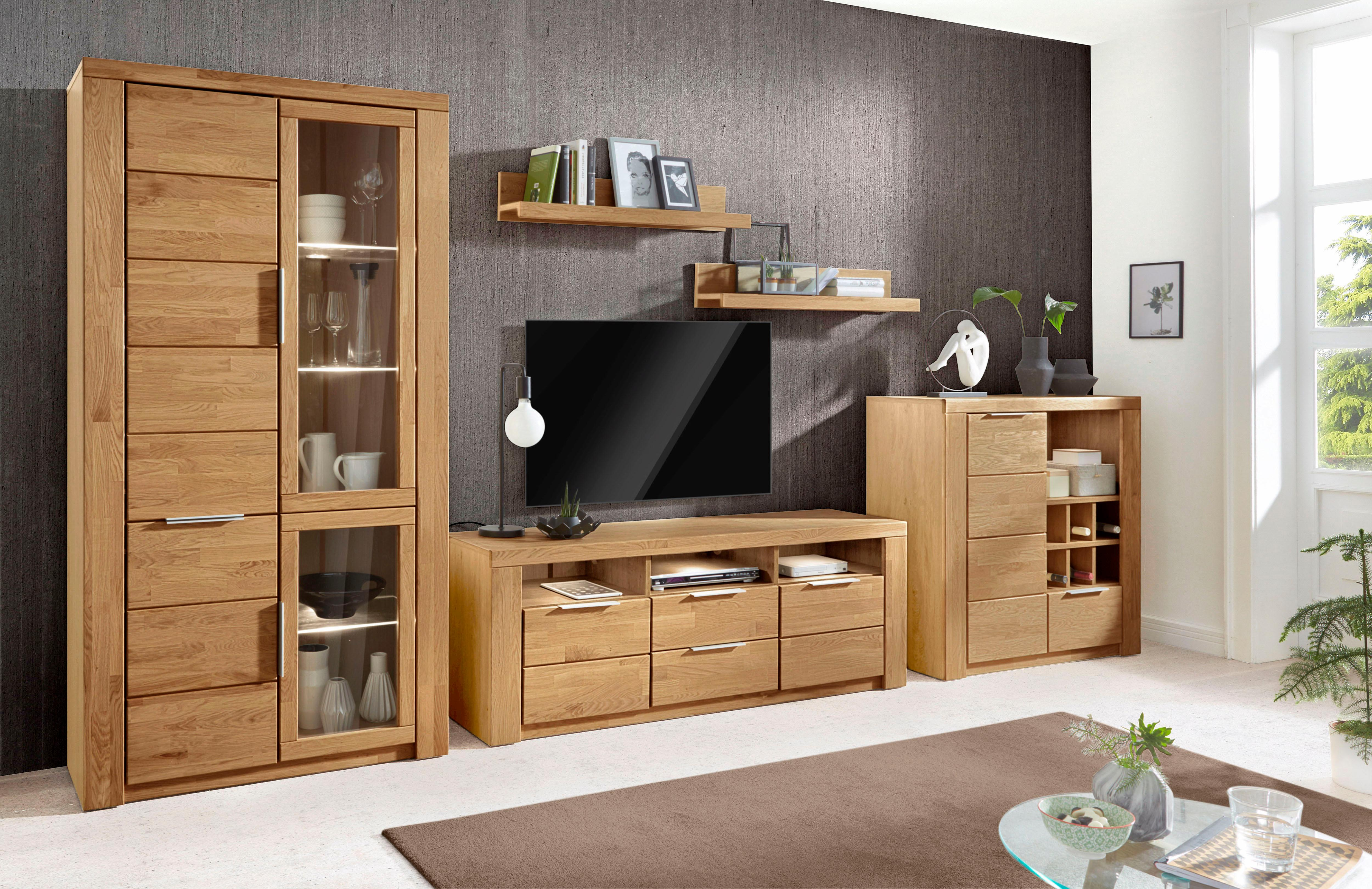 wohnwand zara set 5 tlg auf rechnung bestellen baur. Black Bedroom Furniture Sets. Home Design Ideas