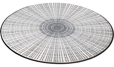 Teppich, »Cascara«, wash+dry by Kleen - Tex, rund, Höhe 7 mm, gedruckt kaufen