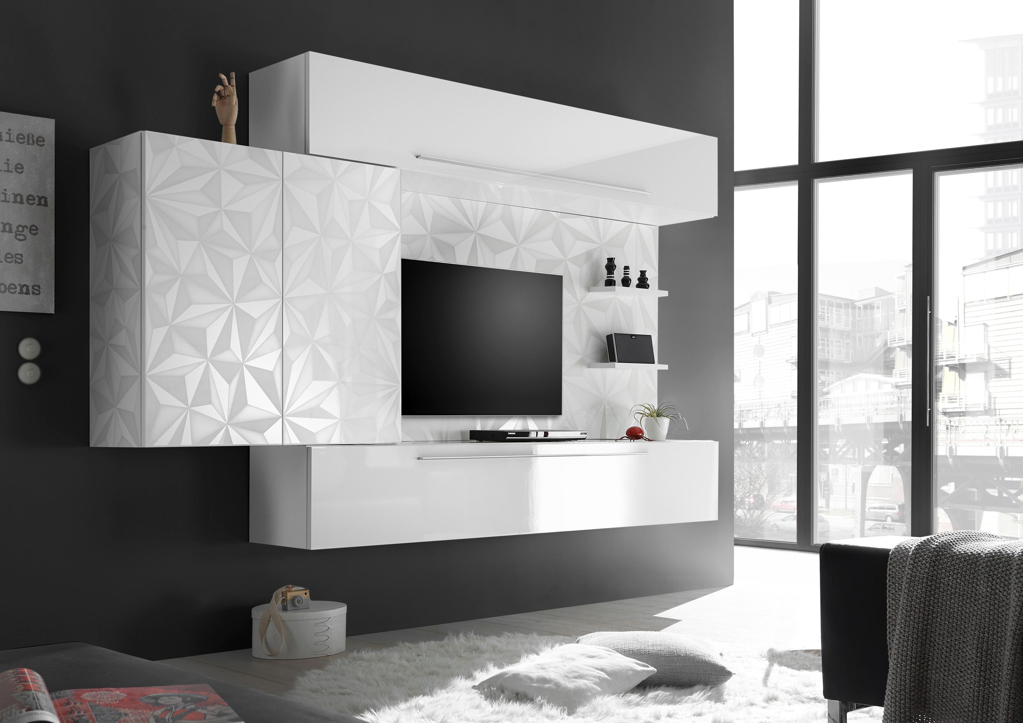 wohnwand modern preise vergleichen und g nstig einkaufen bei der preis. Black Bedroom Furniture Sets. Home Design Ideas