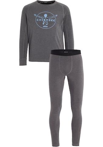 Chiemsee Thermounterhemd, (mit Thermounterhose), Skiunterwäsche-Set Herren kaufen