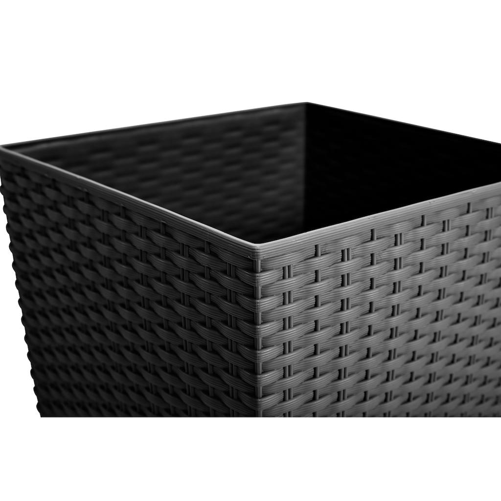 Prosperplast Blumentopf »Rato Square 325«, BxTxH: 33x33x61 cm