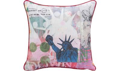 H.O.C.K. Dekokissen »Lieblingsstädte NEW YORK«, mit New-York-Motiv kaufen