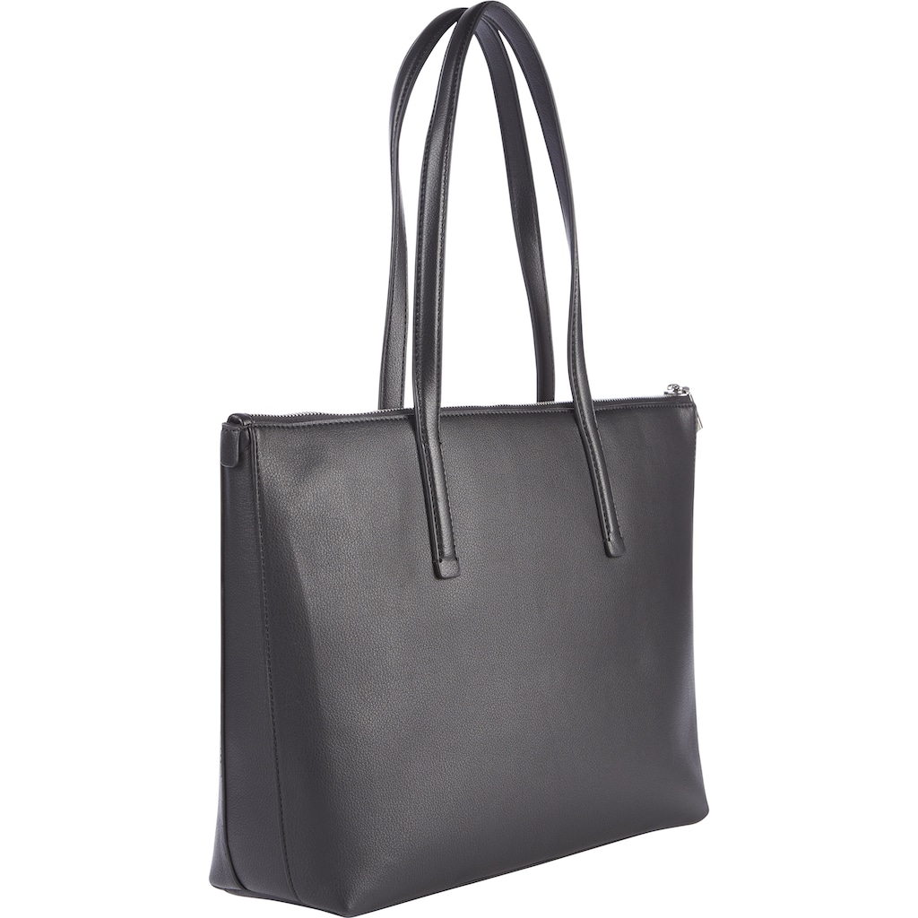 Calvin Klein Shopper »SHOPPER MD«, mit silberfarbenen Logo Anhänger