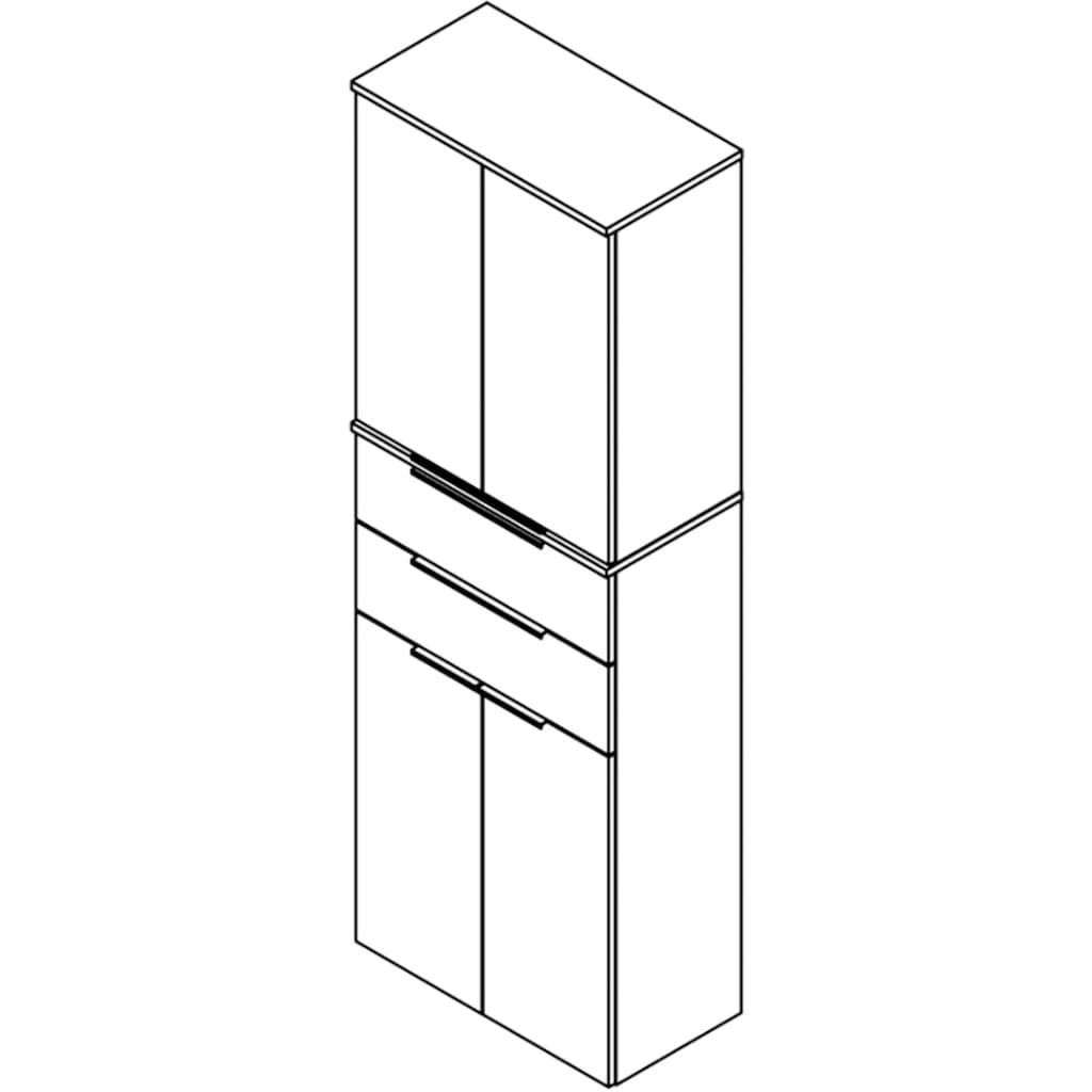 FACKELMANN Hängeschrank »Kara«, Breite 61 cm