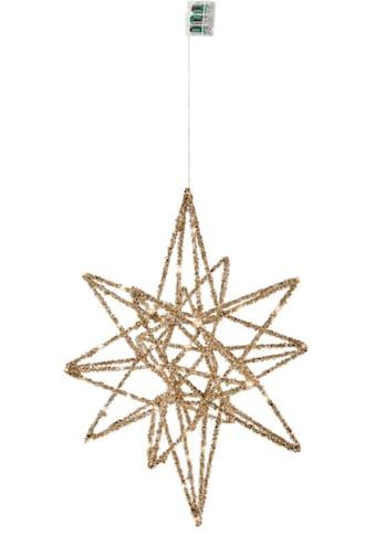 LED Stern »Galaxy«, Warmweiß, mit 30 LEDs, 45x50 cm kaufen