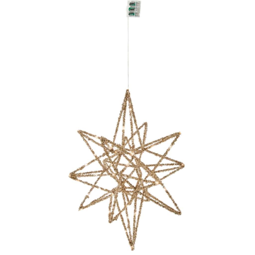 LED Stern »Galaxy«, Warmweiß, mit 30 LEDs, 45x50 cm